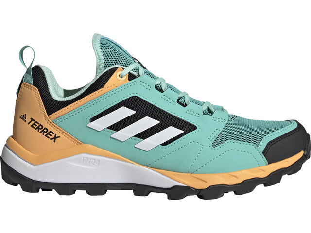 adidas TERREX Agravic TR Trail Running Shoes Women, acid mint/feather white/hazy orange
